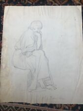 Dessin ancien de Ingres ? Date  1844 ,  comtesse d'Haussonville ?
