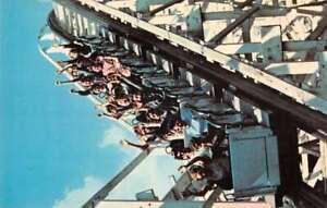 Youngstown Ohio Idora Park Roller Coaster Vintage Postcard AA37694
