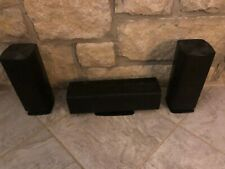 Samsung surround sound speakers PS-FZ510 front right and left & PS-CZ510 center