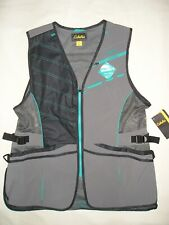 New Ladies Xl Trap/Skeet/Sporting Clays Shooting Vest Timberwolf Grey