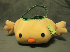 NWT CARTERS JUST ONE YEAR YELLOW BABY CHICK EASTER BASKET