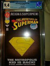 Adventures of Superman 501 CGC 9.4 (2008558001) 6/93, 1st print Collector's Ed