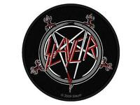 SLAYER AUFNÄHER / PATCH # 25 LOGO - 9cm