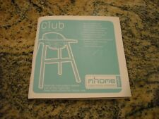 CLUB highchair manual book by L'inglesina Baby S.p.A. made in Italy 99 pages