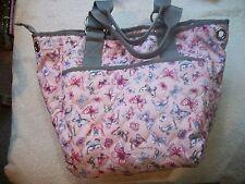 LeSportsac Jetsetter NWOT Pink Butterfly Handbag Large FAB Free Ship