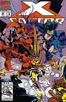 X-Factor Comic Issue 80 Modern Age First Print 1992 Peter David Stroman Milgrom