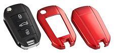PEUGEOT Citroen Skoda chiave cover key guscio telecomando Mascherina Rosso c31