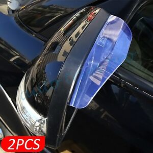 Car Accessory Rear View Side Mirror Protective Rain Cover Sun Water Guard Trim