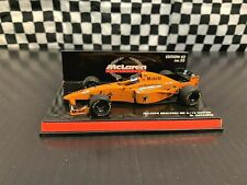 Minichamps M. Hakkinen #9 McLaren Mercedes MP4/12 1997 F1 Testcar 1:43 w/Case