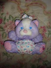 Fisher Price Puffalump Purple Baby Kitty Cat 1999