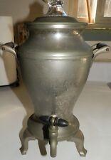 Vintage Universal Landers, Frary & Clark Silver Plate Coffee Percolator E9177