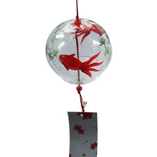 Japanese Glass Furin Wind Chimes Bells Birthday Wedding Christmas Easter Gift