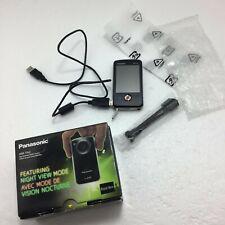"Panasonic HM-TA2 Full HD HDMI Video Mobile Camera 3""Touch Screen USB Mini-Tripod"