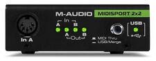 M-Audio Midisport 2x2 Anniversary Edition USB Midi Interface MINT