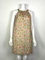 Shoshanna Floral Silk Blend Halter Dress Size 4 Knee Length GORGEOUS!