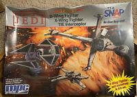 MPC ERTL 8912 Star Wars Return of the Jedi 3 Piece Set Wing Fighter Interceptor