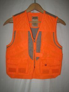 Master Sportsman Boys Blaze Orange Pheasant Hunting Vest Kids S Upland