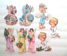 3D UPick Christmas Angels Nativity  Scrapbook Card Embellishment