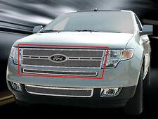 Fedar Main Upper Rivet Mesh Grille Insert For Ford Edge 2007 2008 2009 2010