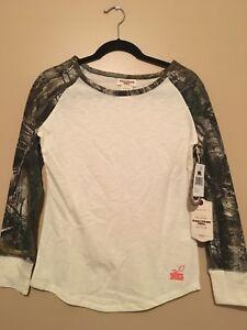 NWT Realtree Girl Longsleeve Shirt And Pants Set Size Small