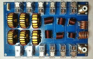 1.8-54 MHz 7 Band Low Pass Filter 1.5KW