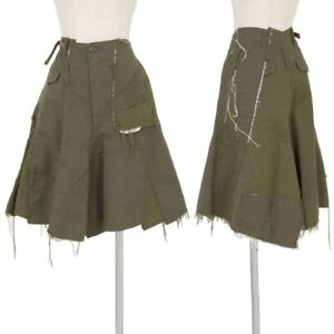 JUNYA WATANABE COMME des GARCONS Cotton Design Skirt Size S(K-73877)