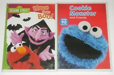 Kid DVD Lot - Sesame Street Elmo Says Boo! (New) Cookie Monster and Friends