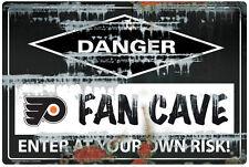 NHL PHILADELPHIA FLYERS FAN CAVE SIGN
