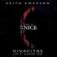 KEITH EMERSON - Vivacitas: Live At Glasgow 2002 - CD