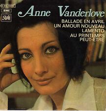 ANNE VANDERLOVE BALLADE EN AVRIL FRENCH ORIG EP ERIC DEMARSAN