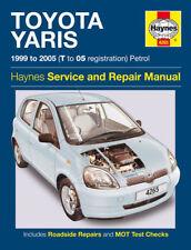 Haynes Workshop Repair Manual Toyota Yaris 99 - 05