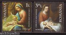W027 EMISSIONE CONGIUNTA 2010 ROMANIA - VATICANO  MNH**
