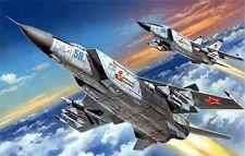 MiG 25 PD FOXBAT E (IRAQI, LIBYAN, SOVIET & UKRAINIAN AF MKGS) 1/72 ICM
