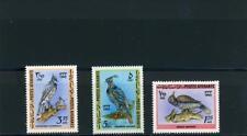 Afghanistan 1964   Scott# 707-9 Birds mint NH