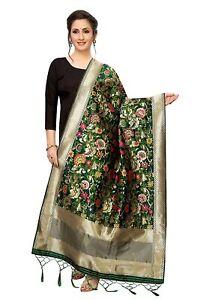 Women's Banarasi Silk Woven Dupatta