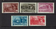 """ROMANIA 1947 #1057-1061 mnh """"1. MAY"""" E894g"""