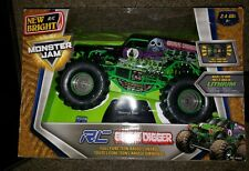 New Bright 1:24 RC Radio Control 9.6V Monster Jam Grave Digger Truck Toy 3D