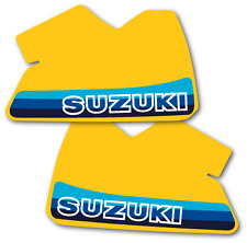 1982 Suzuki RM 465 Tank Decals Full Cover US Version