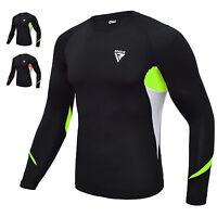 RDX MMA Chemise de Compression Neoprene Rashguard Longue Shirt Sudation Homme FR