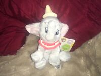 "DISNEY SMALL 6"" DUMBO SOFT TOY PLUSH NEW TAGS"