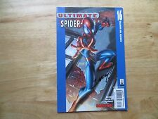 2002 ULTIMATE SPIDER-MAN # 16 GWEN STACY & DOC OCK SIGNED MARK BAGLEY WITH POA