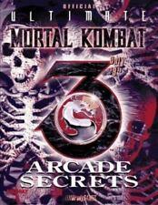 Ultimate Mortal(r) Kombat 3 Arcade Secrets (Official Strategy Guides), , BradyGa