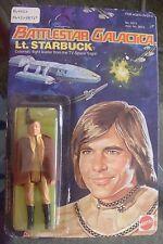 1978 Battlestar Galactica Lt. STARBUCK MOC UNPUNCHED Action Figure VERY NICE!!