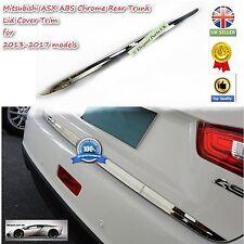 Calidad Superior Mitsubishi Asx Rvr Cromo Moldura Cubierta Trasera Tapa del tronco (2013-2017)