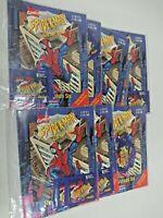 (Lot of 7) Marvel Spider Man Insidious Six Sticker Book + Sticker Packets Panini