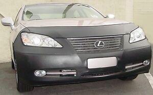 Colgan Front End Mask Bra 2pc. Fits Lexus ES350 2007-2009 W/O Lic. Plate,Sensors