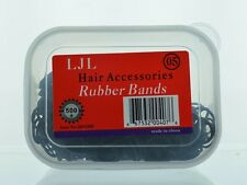 500pc Dime Sized Rubber band In Plastic box