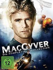38 DVDs * MACGYVER BOX - KOMPLETTE SERIE - STAFFEL / SEASON  1 - 7 # NEU OVP +