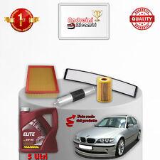KIT TAGLIANDO FILTRI E OLIO BMW SERIE 3 E46 318 i 87KW 118CV 2000 ->