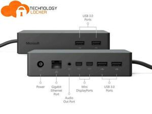 Microsoft 1661 Surface Dock For Surface Pro 4-5-6 Surface Book 1-2 w/ Adapter